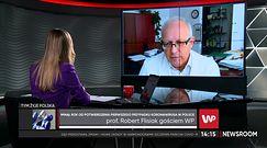 Prof. Flisiak potwierdza, że w szpitalach zaczynają dominować młodsi pacjenci