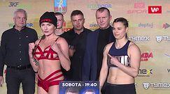 Tymex Boxing Night 16. Ewa Brodnicka oczarowała. Zobacz ważenie przed walką z Kolewą