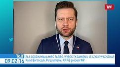 Kamil Bortniczuk nie zmienił zdania. Tak odpowiedział kobiecie po aborcji