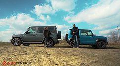 Mercedes-Benz Klasy G vs Suzuki Jimny – duży kontra mały