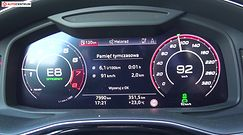 Audi RS Q8 4.0 TFSI V8 600 KM (AT) - pomiar zużycia paliwa