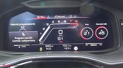 Audi RS Q8 4.0 TFSI V8 600 KM (AT) - acceleration 0-100 km/h
