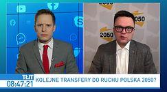"""Szymon Hołownia o transferach do ruchu Polska 2050. """"Mamy sygnały ze Zjednoczonej Prawicy"""""""