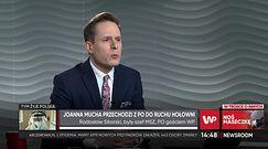 Joanna Mucha wybrała Szymona Hołownię. Rekacja Radosława Sikorskiego