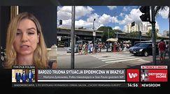Pandemia w Brazylii. Jak naprawdę wygląda tam sytuacja opowiada Polka mieszkająca w Sao Paulo