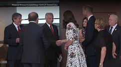 Wizyta brytyjskiej pary książęcej w ECS