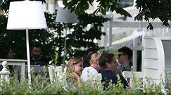 Iga Lis na lunchu z ojcem i z torebką za 5 tysięcy złotych!