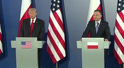 O czym Donald Trump rozmawiał z Andrzejem Dudą?