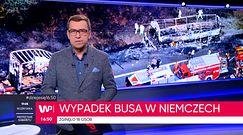 Wypadek autokaru w Niemczech. Nie żyje 18 osób
