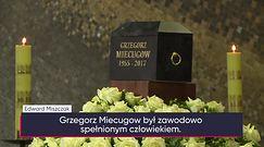 Pogrzeb Grzegorza Miecugowa. Tak żegnano dziennikarza