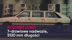 Polonez - ikona PRL. Czy znasz te modele?
