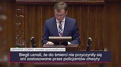 Zbigniew Ziobro o śmierci Igora Stachowiaka na komisariacie