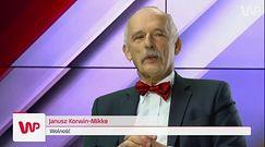 Janusz Korwin-Mikke u Jacka Gądka: mężczyzna jest traktowany jak bezpłatny dawca nasienia