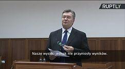 """Wiktor Janukowycz broni się: """"Nie wydałem rozkazu użycia broni!"""""""
