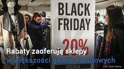 """""""Czarny piątek"""" w Polsce. Zobacz, gdzie kupisz taniej"""