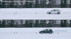 Bridgestone Weather Control A005 - hamowanie na śniegu