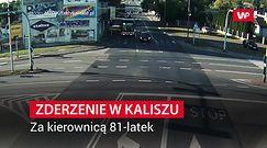 Koszmarny wypadek na skrzyżowaniu w Kaliszu. Za kierownicą 81-latek