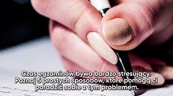 5 sposobów na stres przed egzaminem