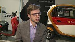 Zeroemisyjny pojazd trójkołowy przyszłością usług pocztowych. Koszt przejechania 100 km to 2 złote