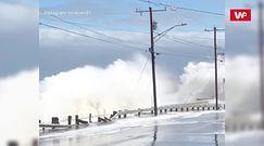 Wody Atlantyku kontra budynki. Potężne burze w USA