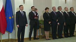 Dymisja Beaty Szydło, Morawiecki na premiera. Uroczystości w Pałacu Prezydenckim