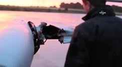 Tak wygląda samolot po zderzeniu z ptakiem