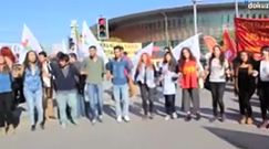 Moment eksplozji w Ankarze