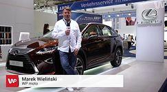 Lexus na salonie samochodowym we Frankfurcie