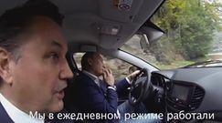Władimir Putin testuje nową Ładę