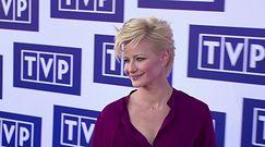 Małgorzata Kożuchowska na prezentacji ramówki TVP