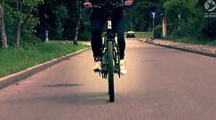 Przejechała samotnie rowerem dookoła Polski