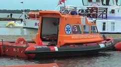 39-latek wypadł z jachtu na Mazurach