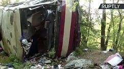 Wypadek autokaru na Krymie