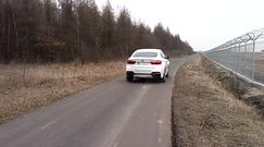 BMW X6 M50d - start z launch control