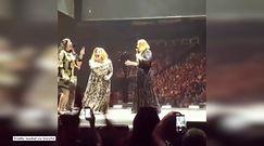 Adele zaprosiła na scenę sobowtóra