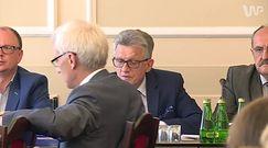 Awantura w Sejmie. Stanisław Piotrowicz wyprosił dziennikarzy z posiedzenia, doszło do ostrej wymiany zdań