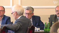 Stanisław Piotrowicz wyprosił dziennikarzy z posiedzenia, doszło do ostrej wymiany zdań