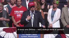 """Donald Trump: """"Nikt nie wykorzystywał kobiet bardziej niż Bill Clinton!"""""""