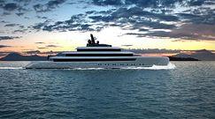Moonstone - świecący w ciemności jacht dla najbogatszych i dla gadżeciarzy