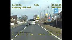 Policyjne nagranie piratów drogowych
