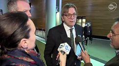 Guy Verhofstadt: polski rząd nie pozbywa się swojej konstytucji, on ją paraliżuje