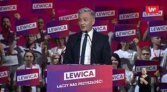 Wybory parlamentarne 2019. Konwencja Lewicy przerwana przez alarm