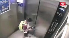 Dziecko samo w windzie. To musiało się tak skończyć