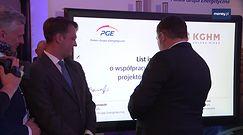 KGHM i PGE będą współpracować przy projektach fotowoltaicznych