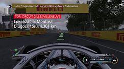 GP Kanady: Tak wygląda jedno okrążenie wyścigu Formuły 1 na torze w Montrealu!