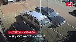 Mistrzyni manewrów. Nagranie z Katowic
