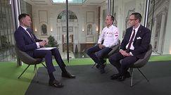 Robert Kubica i Daniel Obajtek w programie# Newsrooom