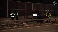 Tragiczny wypadek na autostradzie A4
