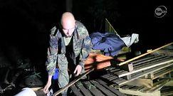 Wichura zniszczyła obóz harcerski