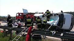 Wypadek na A4. Siedem osób nie żyje
